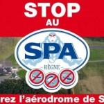 Fermeture de l'aérodrome de Spa : la position de Spadel