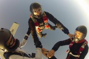 Premier entrainement de l'équipe VFS Supersonic