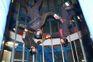 Soufflerie, simulateur de chute libre
