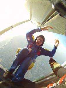 Si vous tombez sans parachute d'un avion…