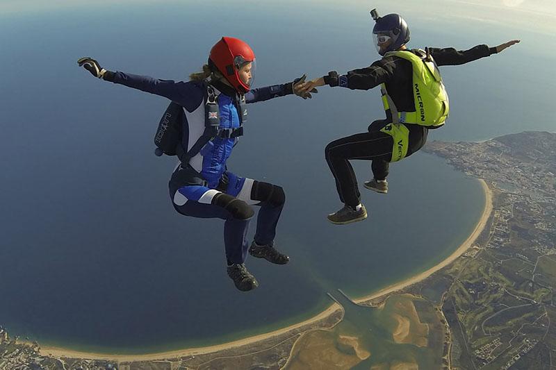 Skydive over Algarve