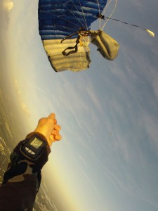 Formation au parachutisme : Procédures de secours