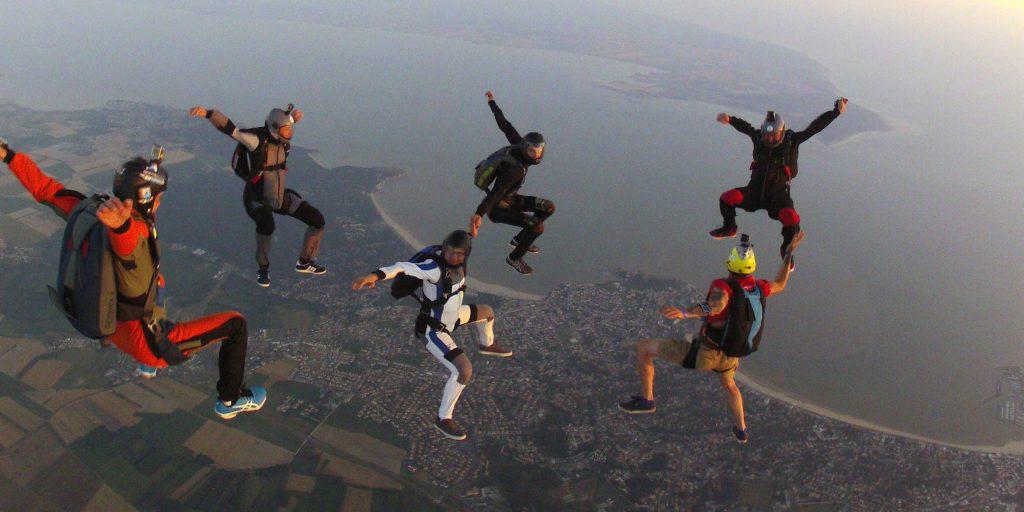 Stage de parachutisme à Royan – juillet 2020