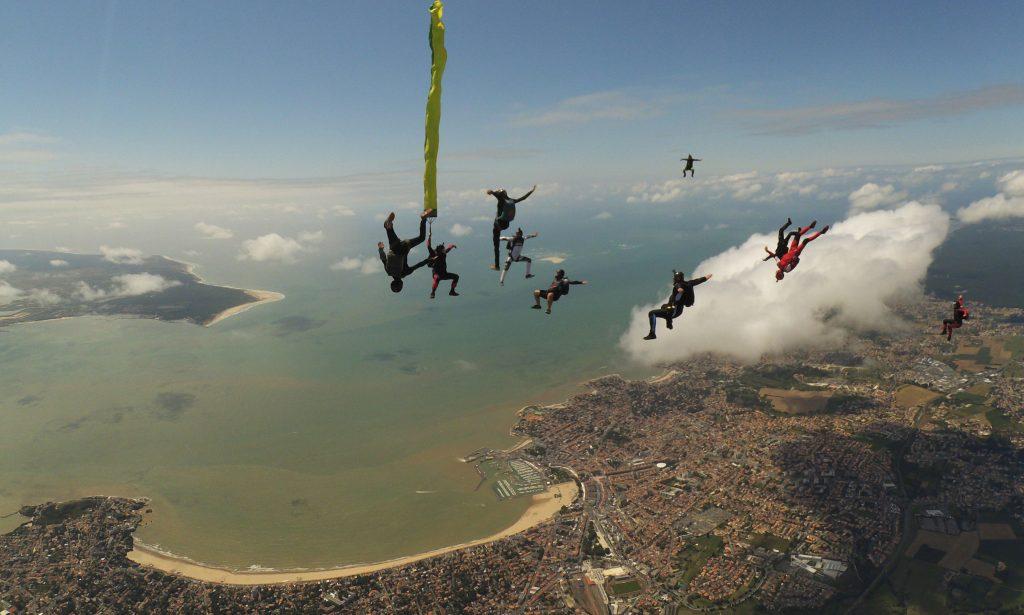 Stage de parachutisme à Royan la semaine de Paques 2019