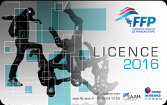 licence française de parachutisme