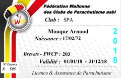 Licence assurance de parachutisme
